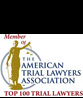 Member of The American Lawyers Association Top 100 Trial Lawyers